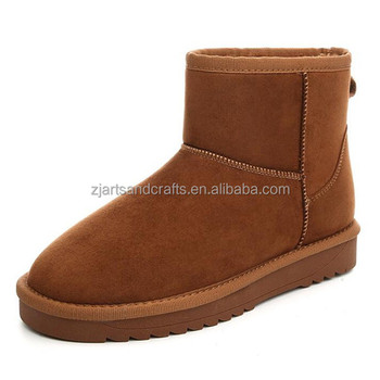 Fashion Wholesale manufacture warm winter boots women shoes 2016