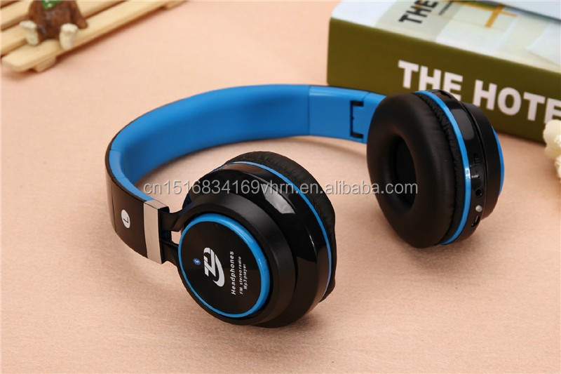 40mm Colorful Stereo Headphone earphone with Bluetooth for sport handset earphone