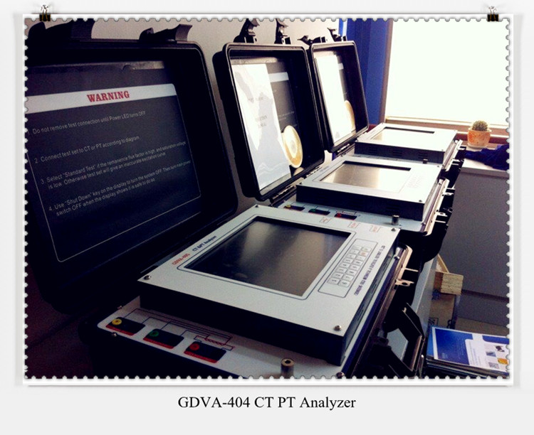 High Voltage Transformer Turn Ratio CT PT Analyzer