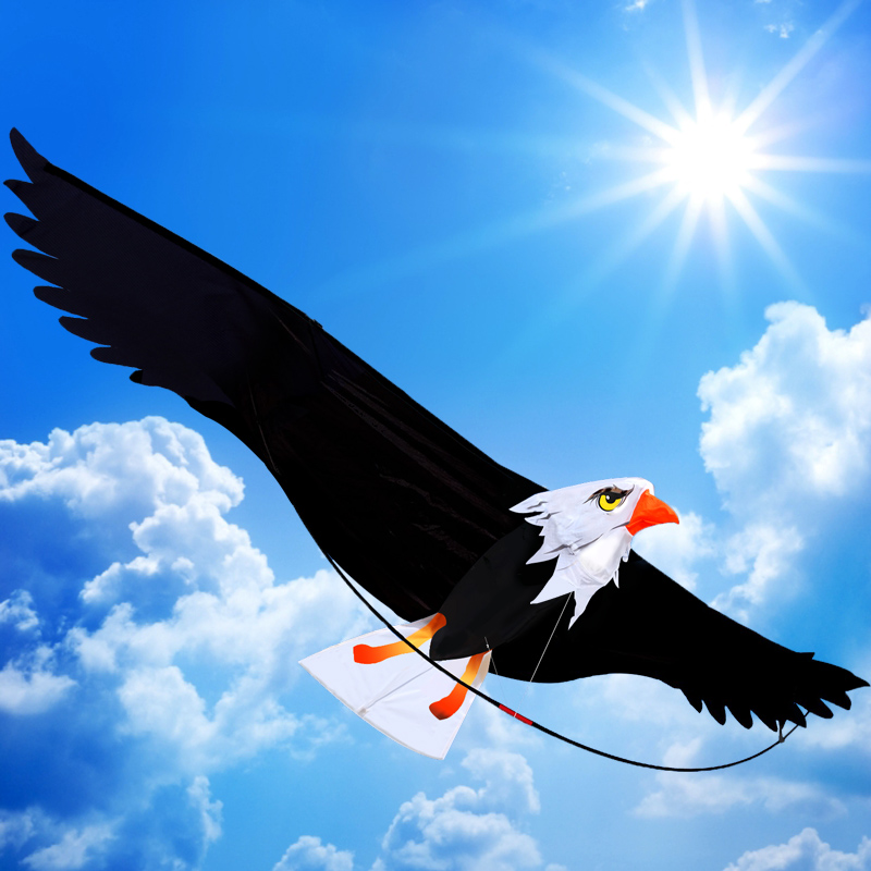 black eagle shape kite