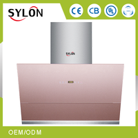 high quality intelligent control copper kitchen range hood / kitchen hood / cook hood