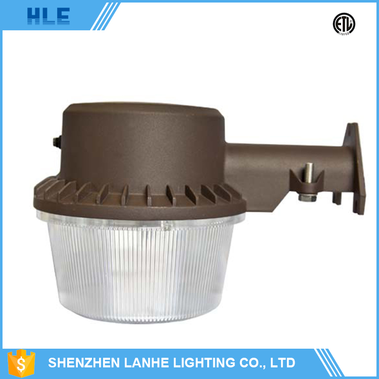 IP65 ETL DLC 22w 35w led street light price dusk to dawn wall mounted residential street light housing