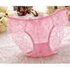 New arrival pink transparent women sexy inner wear