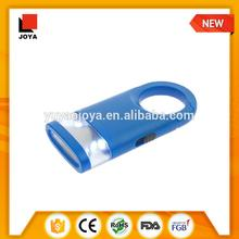 portable ABS material led flashlight reflector led torch soft keychain flashlight led light