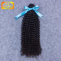 100 Indian human hair product, Indian crochet braids hair extension, natural color crochet hair