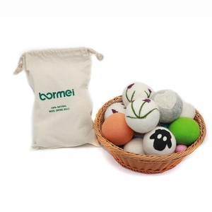 New design laundry product Eco-friendly wool felt dryer ball
