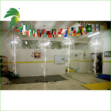 3 years product warranty fast production shiny fair price inflatable jellyfish