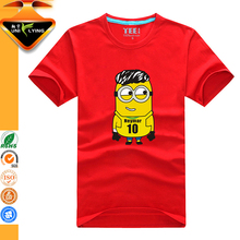 Factory Wholesale Cartoon Character Printed T-shirt with Pattern