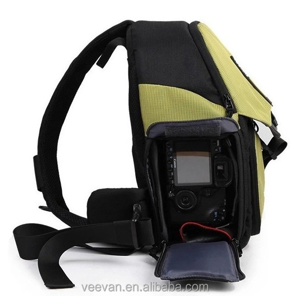 High quality professional waterproof dslr camera bag backpack