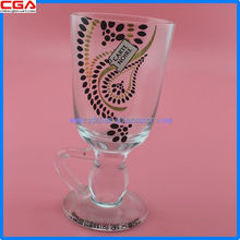 New design Fancy glassware martini glass cup