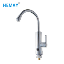 3000W Instant Heating Swan Neck Tap