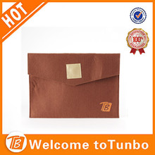 Thick felt pad laptop case wholesale felt bags