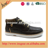 insgear china shoes factory Genuine Leather men's half shoes