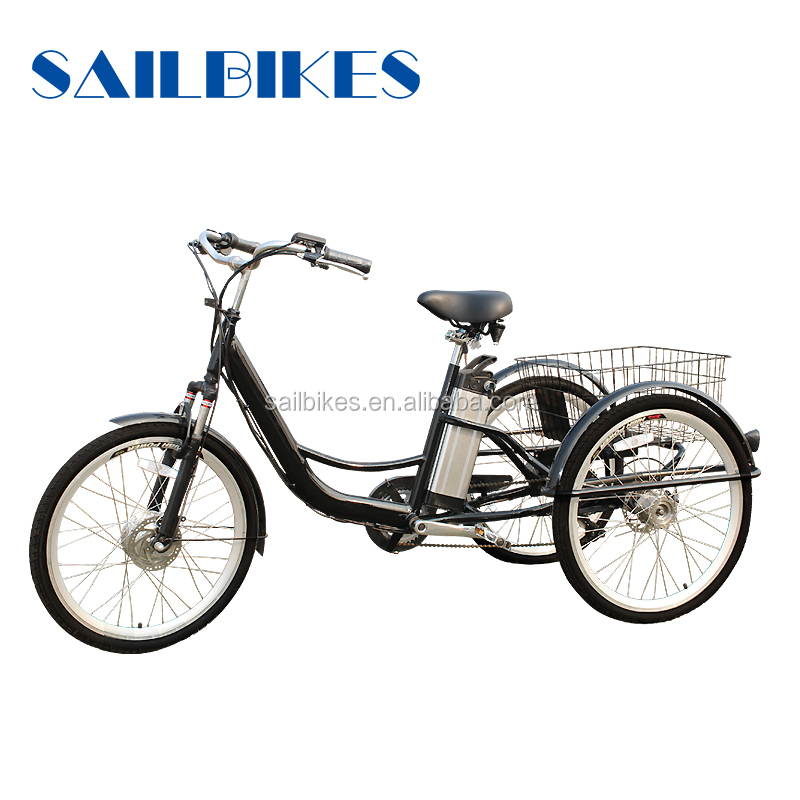 new designed three wheels adult tricycle with basket