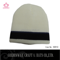 white and black fleece beanie hats patterns slouch knitted hat