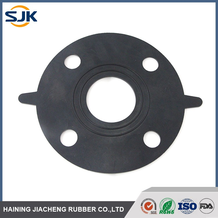Low compression set food grade FKM / Viton / EPDM pipe flange gasket