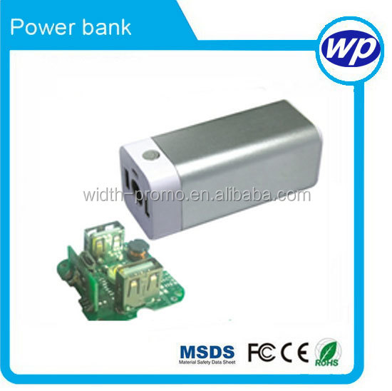1800 mah 2000 mah 2200mah plastic 18650 Li-ion battery mobile phone power bank, powerbank