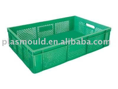 Turnover box mold for Plastic crate cooler box mould lcd