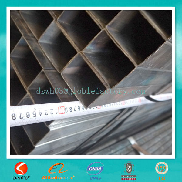 Export Cold rolled Black Steel Pipe to Myanmar