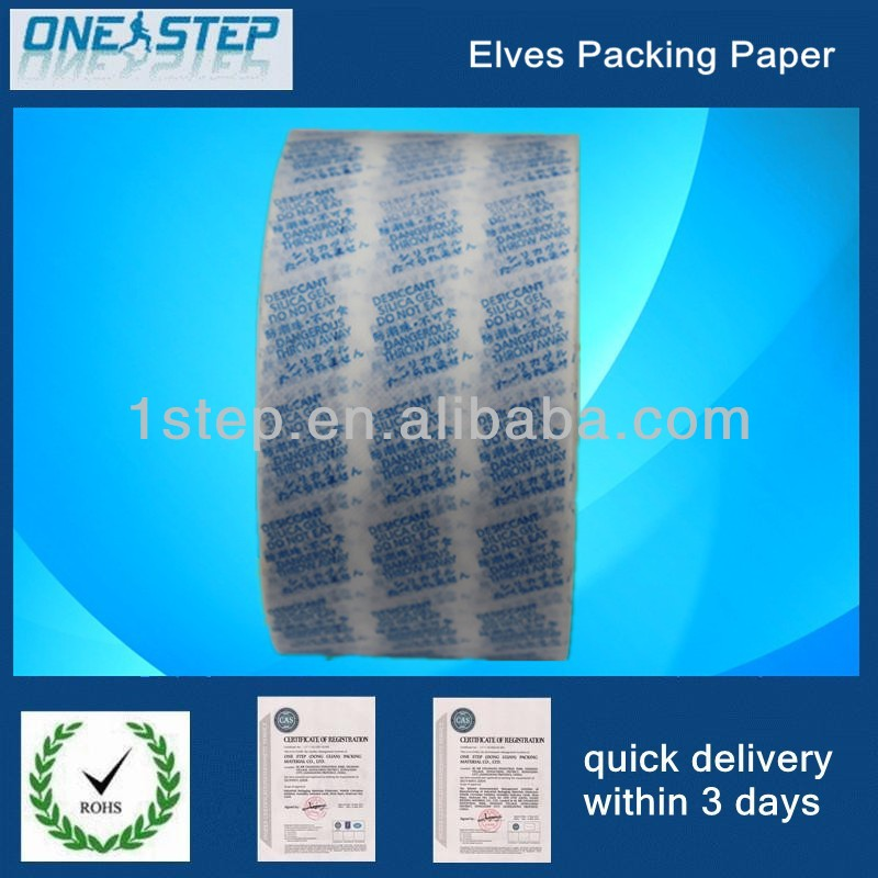 good gas permeability packing paper