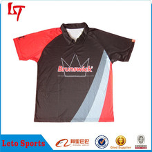 Red Black Custom Crown Logo Tribal Polo Shirt/Sports Polo Apparel /Polo Jersey