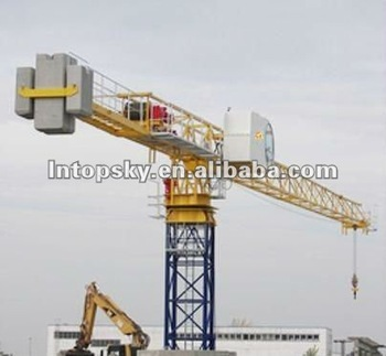 TT5512-8 TOPLESS TOWER CRANE 8T JOST TYPE