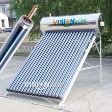 China's alibaba golden supplier provide best solar water heaters in india