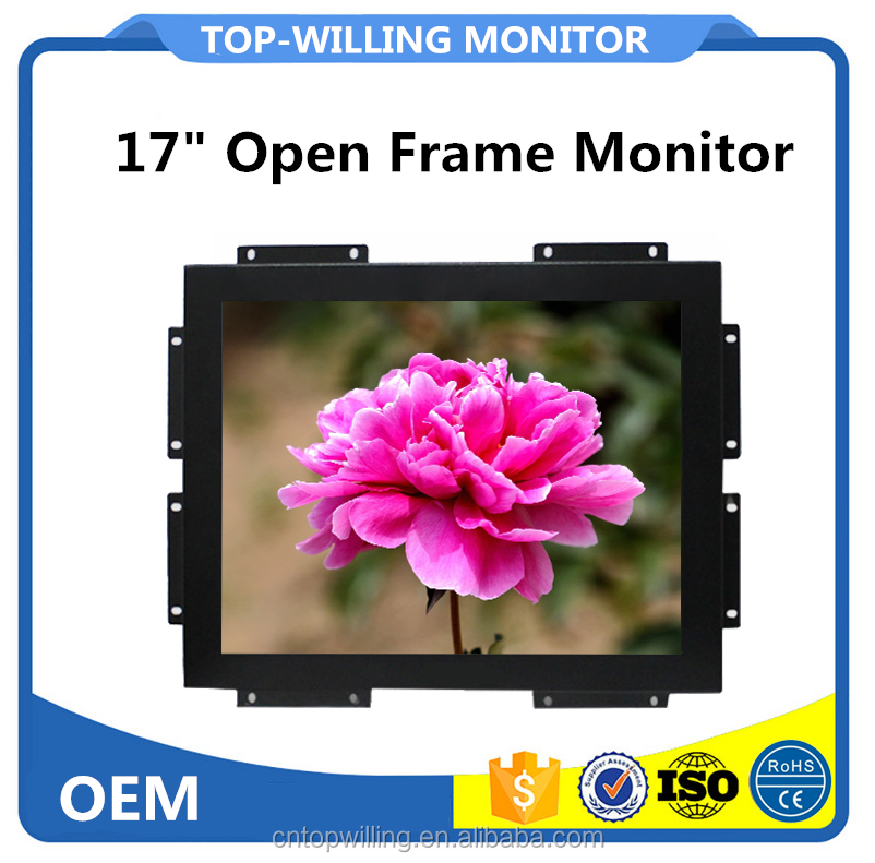 17 inch Square LCD Monitor Touch Screen for Photobooth