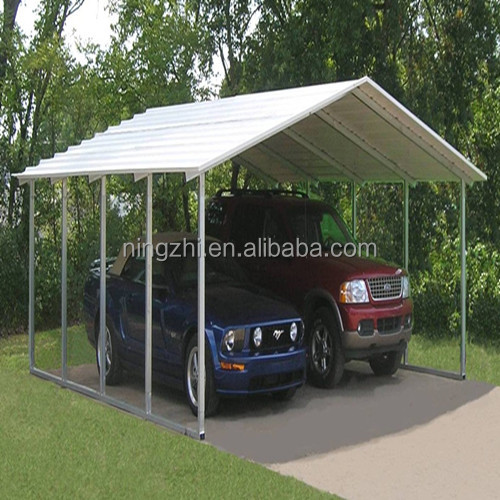 Gable roof carport car shelter backyard boat for Gable roof carport