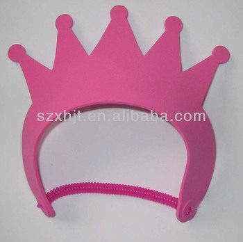 high quality EVA kids crown hat for girls