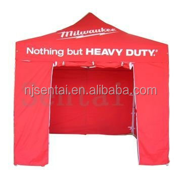 3x3 heavy duty aluminum popup folding tents with walss 3x3
