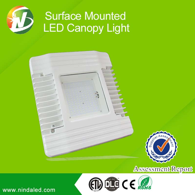 Made in china Recessed LED Canopy Light DLC UL Listed Ceiling embedded Explosion Proof Led Light