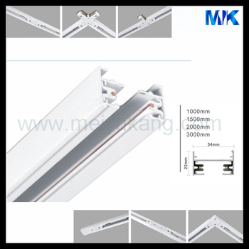 single phase 2 pin wire track rail for led track light  sc 1 st  Shenzhen Meiyukang Optoelectronic Lighting Co. Ltd. - Alibaba & single phase 2 pin wire track rail for led track light View 2 pin ... azcodes.com