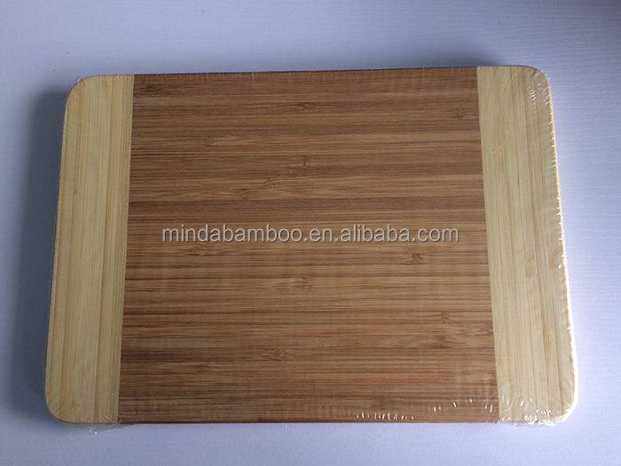 Solid Bamboo Cutting Board Rectangle Bamboo Chopping Block Serving Board on sale