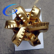 6 blades pdc drill bit for gas well and oil well drilling