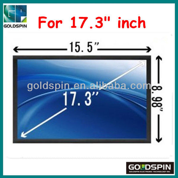 2013 New,Ultra Clear Screen Protector for 17.3 inch Computer, Manufacturer!!!!