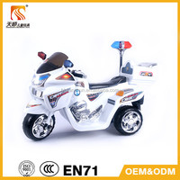 Police Kids battery Motorcycle with remote control