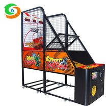 Cheap Price Indoor Amusement Electric Cabinet Basketball Shooting Games Machine
