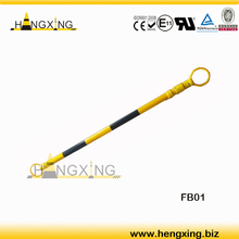FB01 retractable cone bar/cone connecting bar/plastic road safety barrier from Ningbo Hengxing