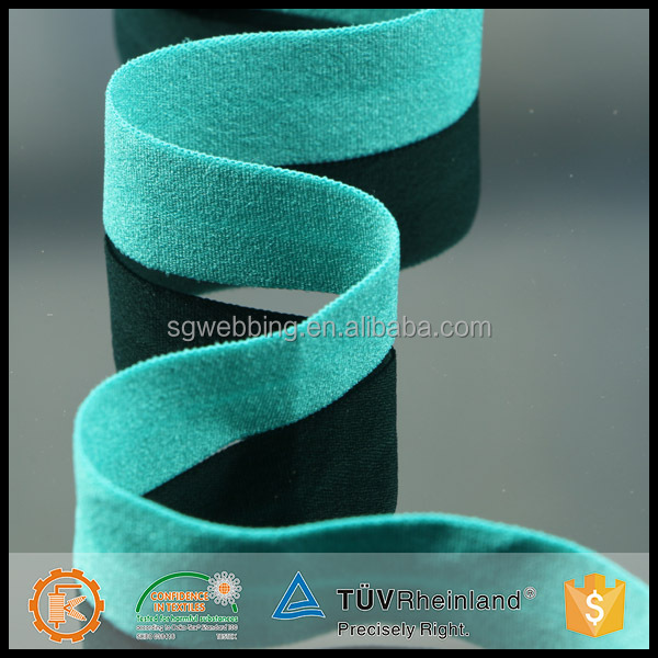 China supplier fold over elastic for garment