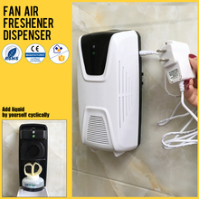 Electric version wall haning fragrance perfume dispenser stand on table air freshener dispenser with 100 - 240 V adapter
