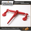 Red Painted Ratchet Type Load Binder With Grab Hook