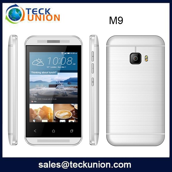 M9 3.5inch small touch phone loud speaker low price low cost cellphone