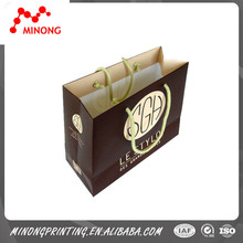 New design high quality custom paper shopping bag