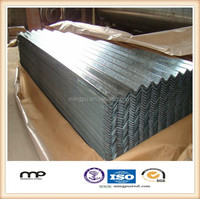 MingPu Steel Metal Roofing Sheet / Most Popular Corrugated Galvanized Aluminium Colored Steel