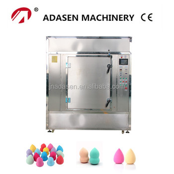 Saving energy industrial microwave drying machine for make up sponge