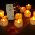 Newest LED Drop Tear Candle with Remote Control