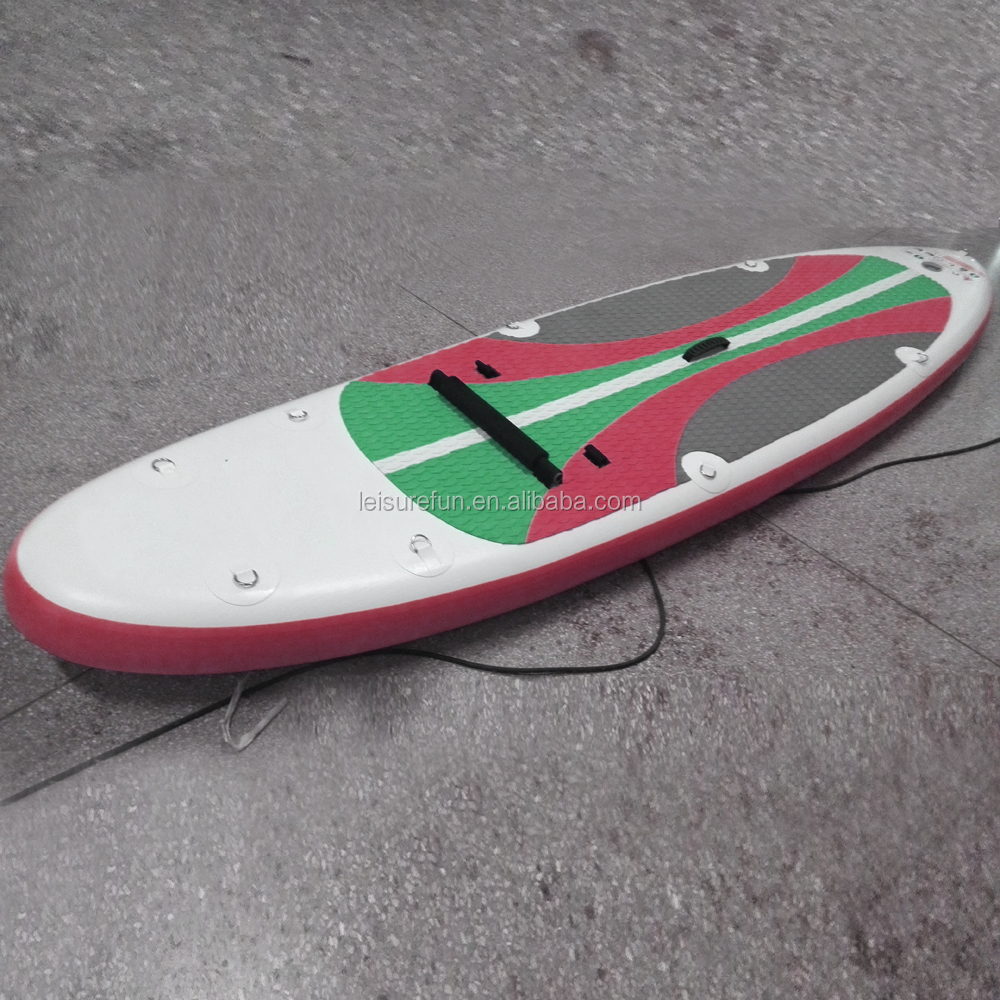 2016 high quality factory manufacture inflatable sup paddle surfboard
