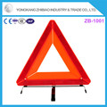 good price red Emergency Use Vehicle warning triangle with E-mark certification