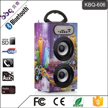 BBQ KBQ-606 10W 1200mAh Hot Selling Remote Control Marquee Light LED Speaker Bluetooth Portable